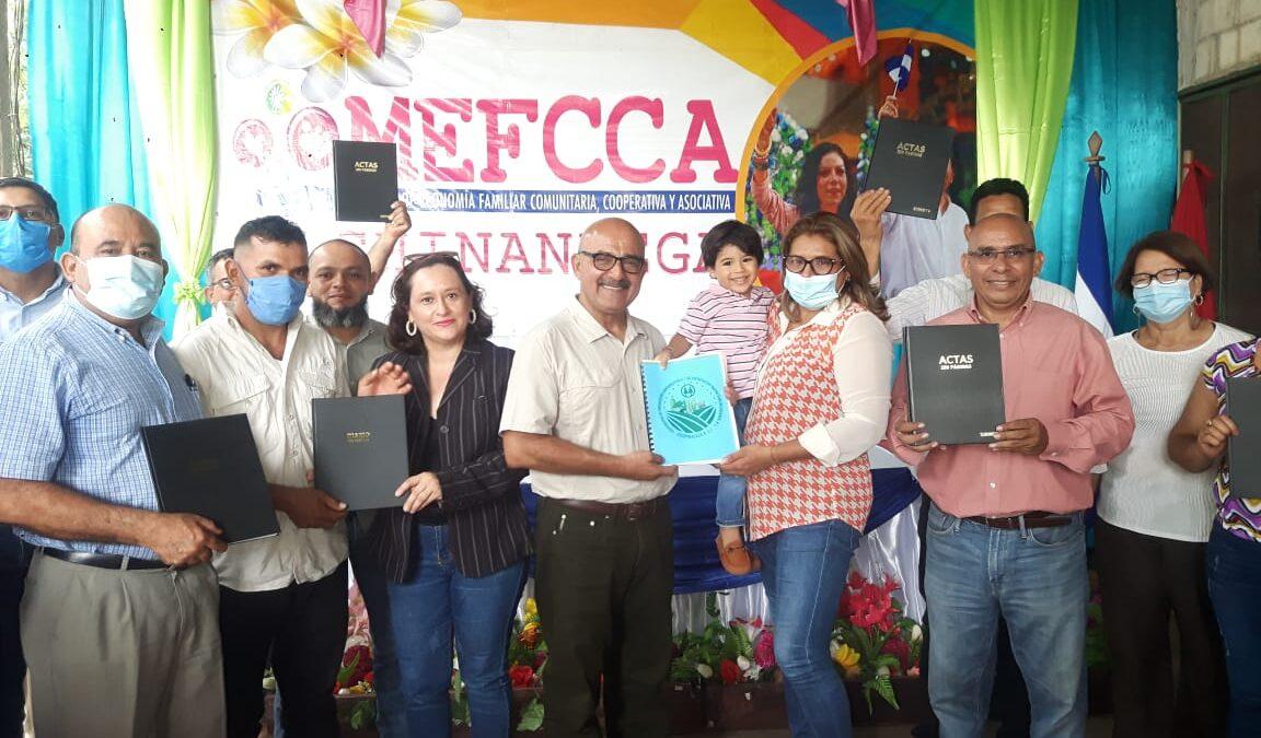 Cooperativa agrícola recibe personería jurídica en Chinandega