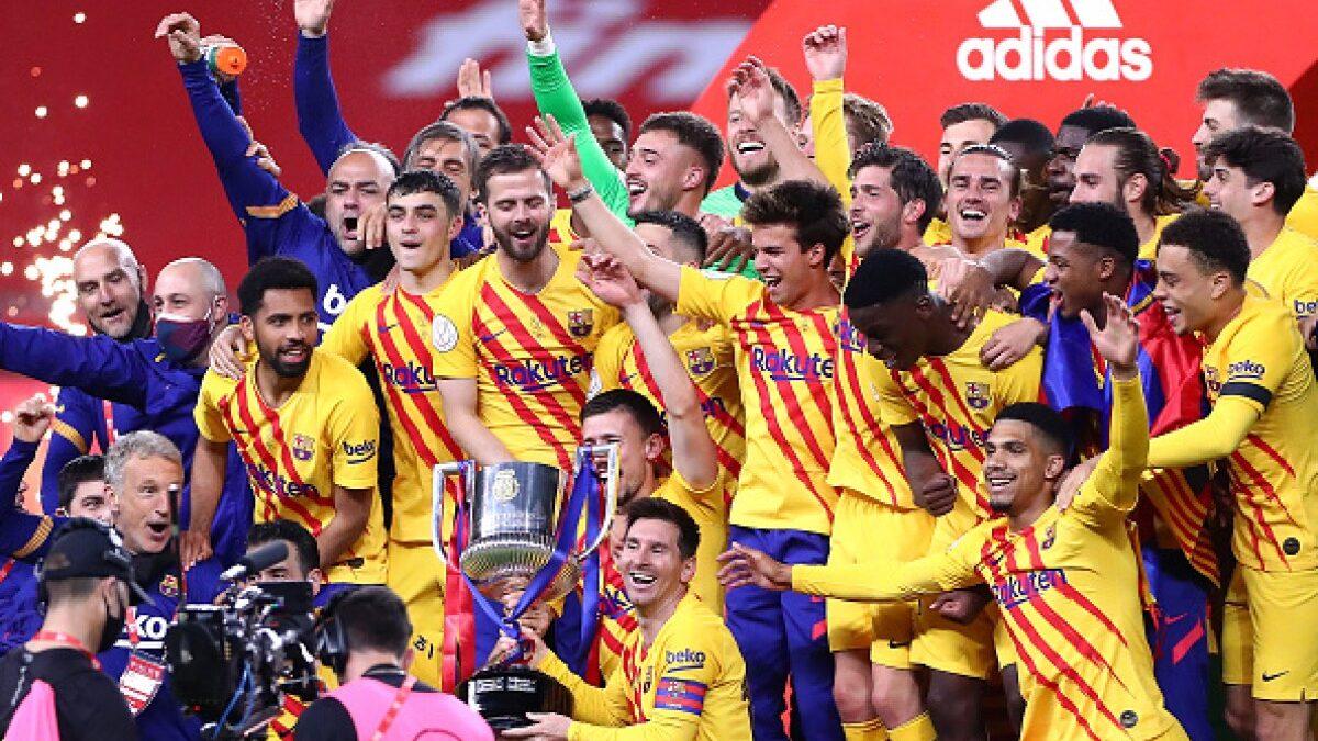 Barcelona rompe mala racha y se corona campeón de la Copa del Rey