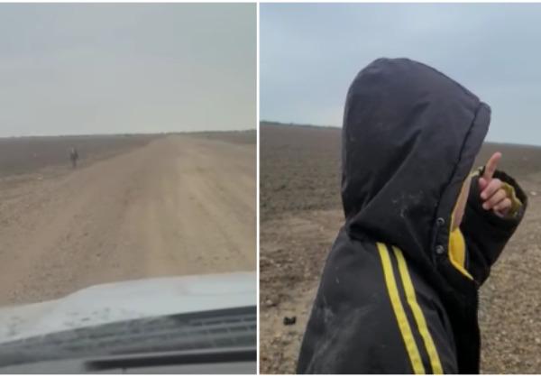 Autoridades localizan a padre del niño nicaragüense abandonado en el desierto de Estados Unidos