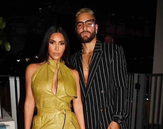Maluma y Kim Kardashian son vistos juntos y encienden las redes sociales