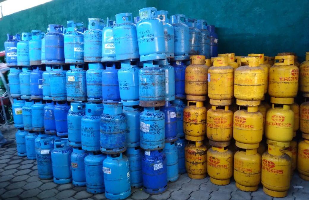 Precio de gas butano se mantiene en las distintas distribuidoras de Managua