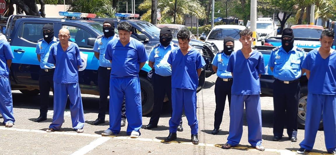 49 presuntos delincuentes son arrestados recientemente