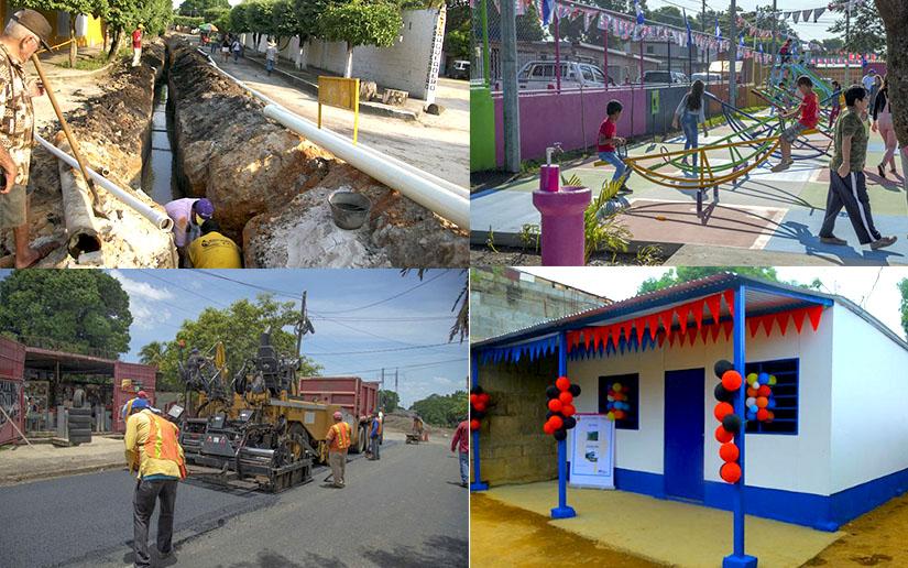 Varios proyectos y obras serán inaugurados esta semana en Nicaragua