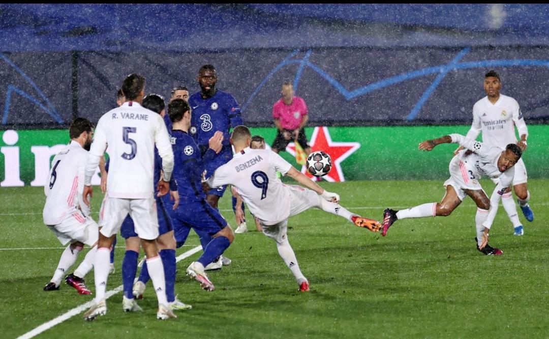 Real Madrid empata ante el Chelsea en las semifinales de la Champions