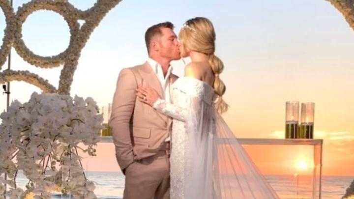 La espectacular boda de Canelo Álvarez con Fernanda Gómez