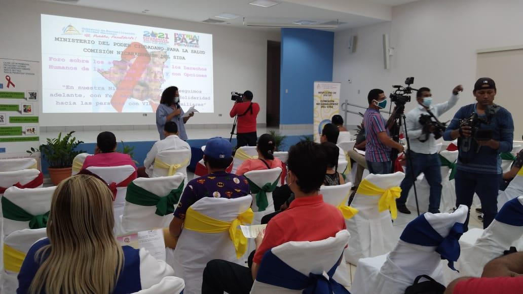 Ministerio de Salud y Conisida avanzan en acompañamiento a personas con VIH en Nicaragua