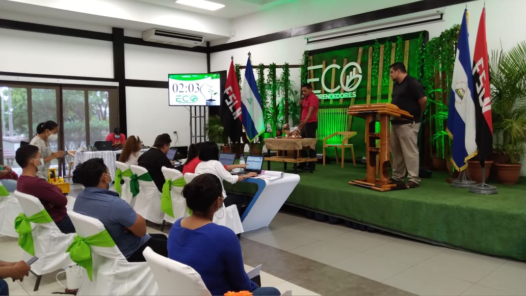 Todo un éxito fue el segundo Concurso Nacional de Eco- Emprendedores