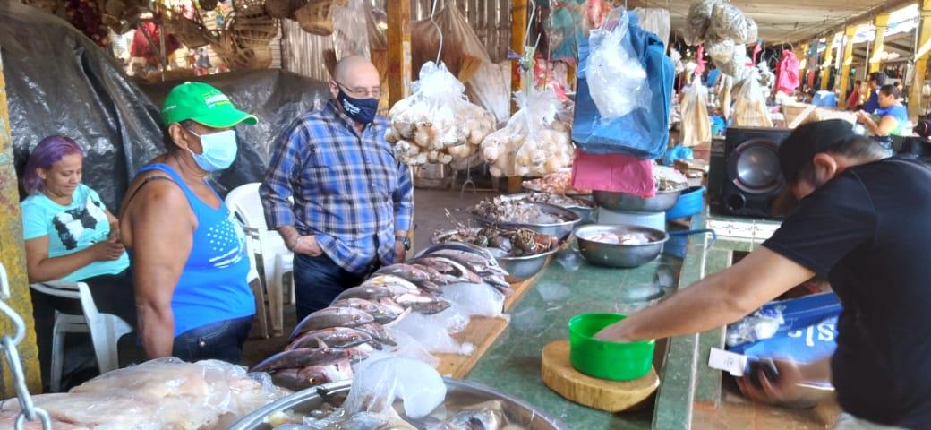 Se dinamizan las ventas de mariscos en los mercados populares de Nicaragua