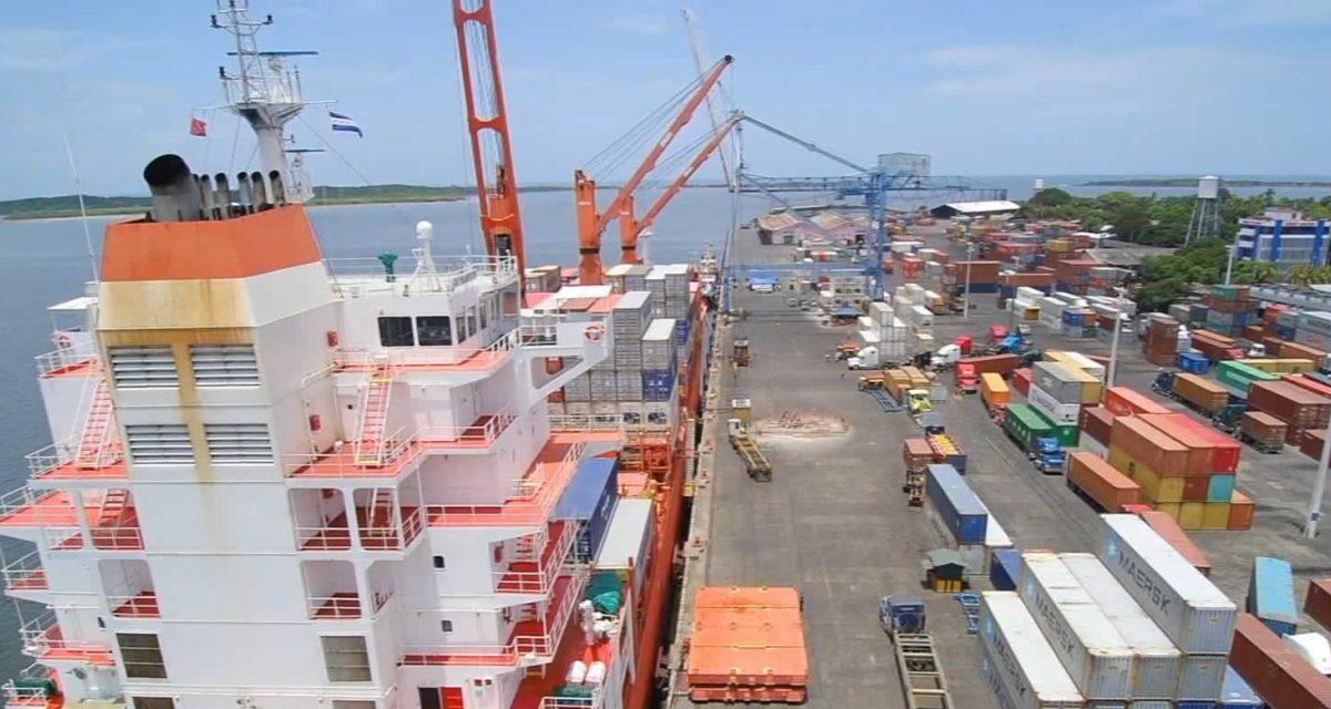 Carga de exportación crece en puertos nicaragüenses