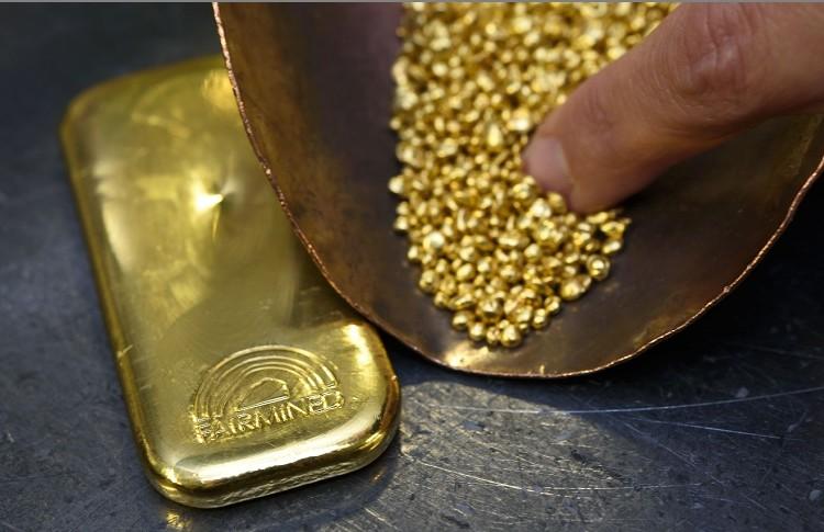 Exportaciones de oro incrementan un 12% en los primeros 3 meses del 2021
