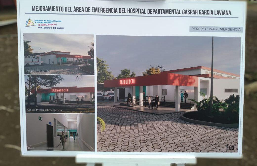 Hospital de Rivas contará con nueva y moderna área de emergencias
