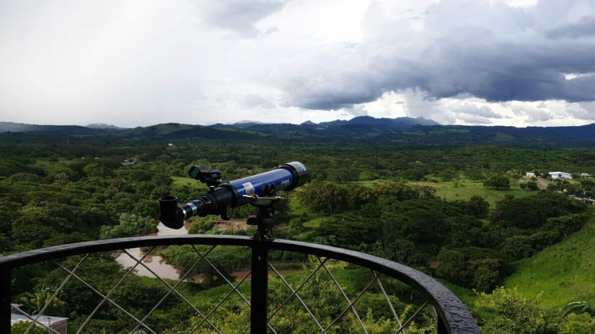 Hotel y restaurante El Mirador, un lugar con vista hacia la Cordillera de Amerrisque