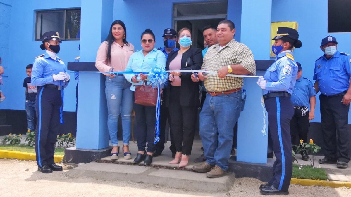 Inauguran nueva estación policial en Jalapa