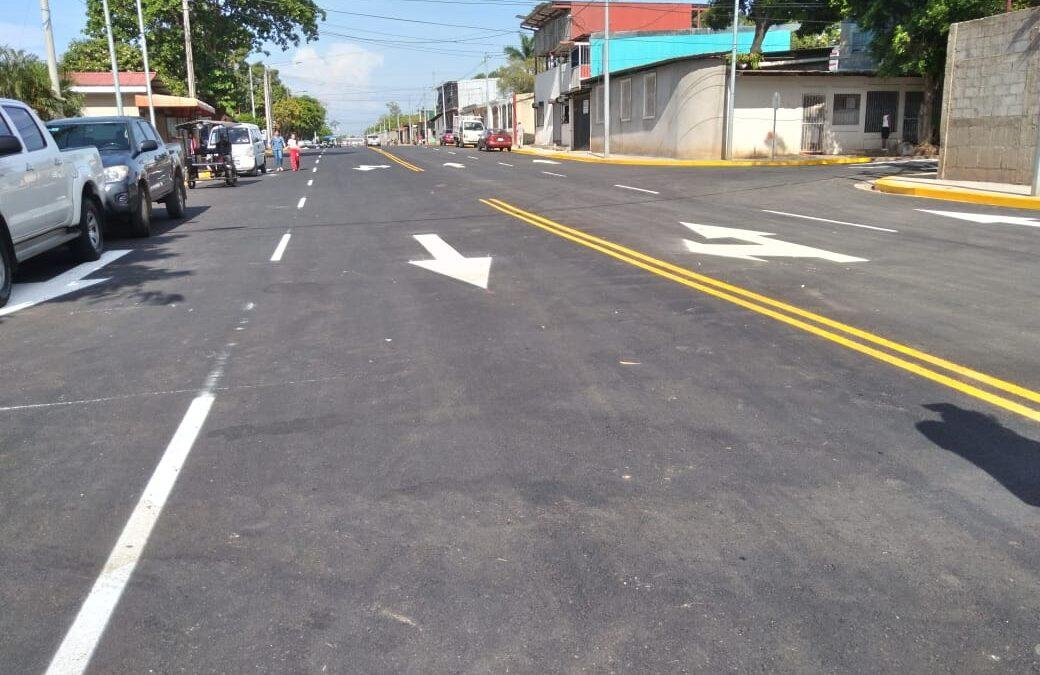 Inauguran ampliación de la Radial Batahola y 25 Calle de Managua