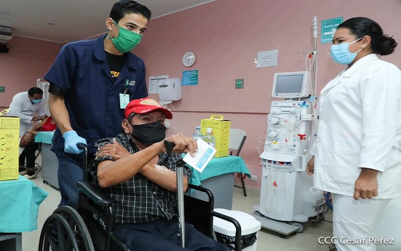 Inmunización contra la Covid-19 continuará en Boaco y Managua