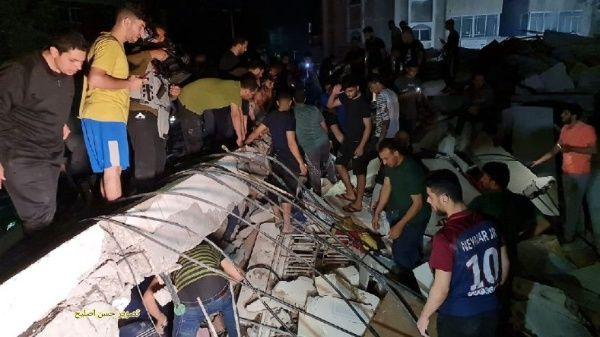 Israel continúa ataques en medio del desalojo de familias
