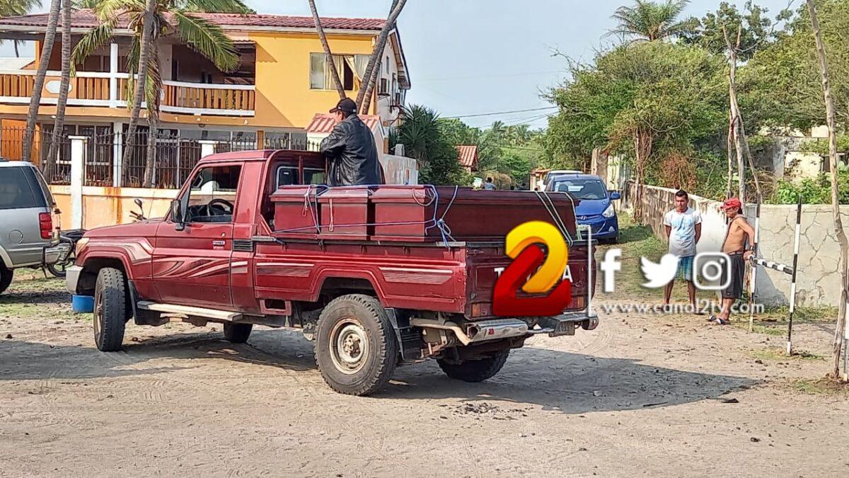 Tres miembros de una familia perecen ahogados en Poneloya, León