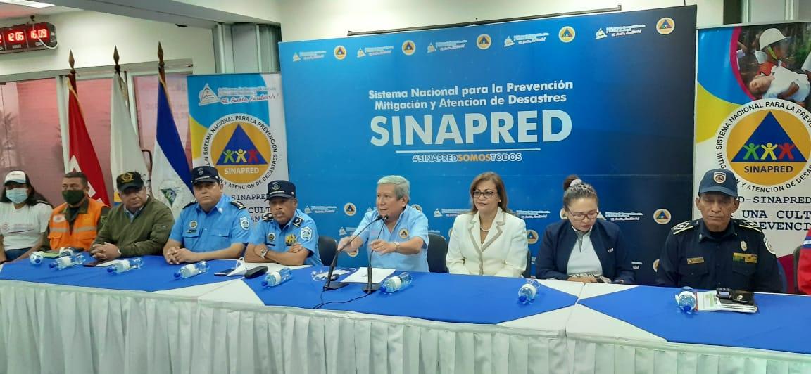 Nicaragua desarrolla el Plan Invierno Seguro 2021