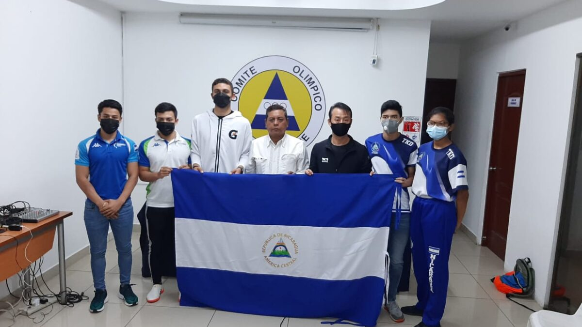 Nicaragua regresa a eventos internacionales de manera presencial en Taekwondo