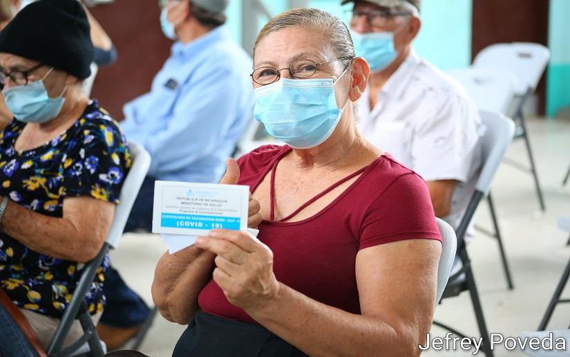 Nicaragua: este miércoles continúa vacunación contra la Covid-19