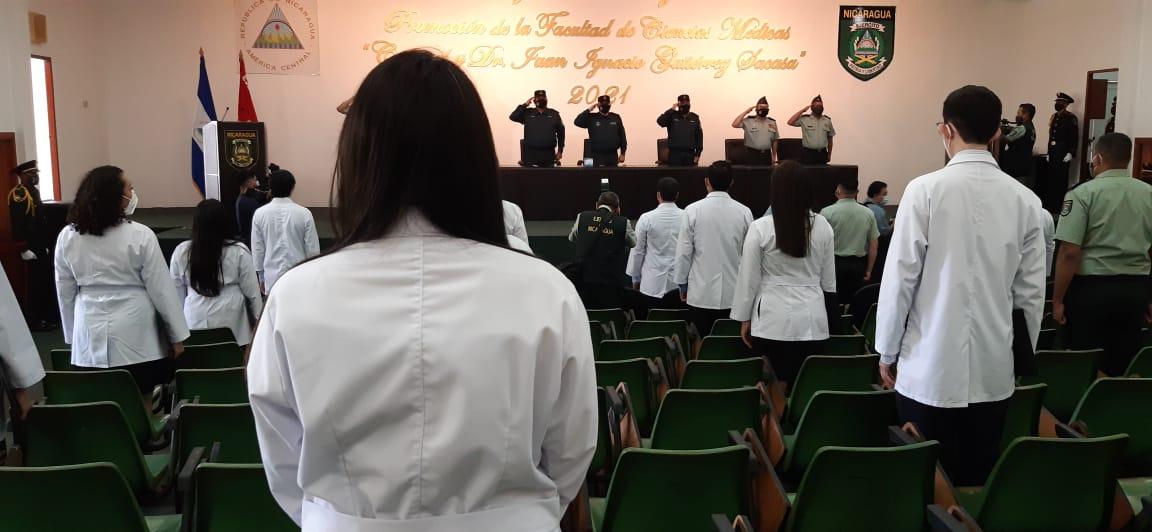 Nicaragua cuenta con 118 nuevos profesionales de la salud