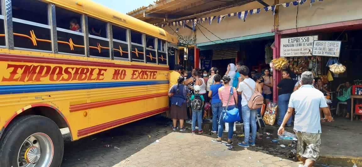 Nicaragua: Pasaje al interior se encuentra estable en este fin de semana largo