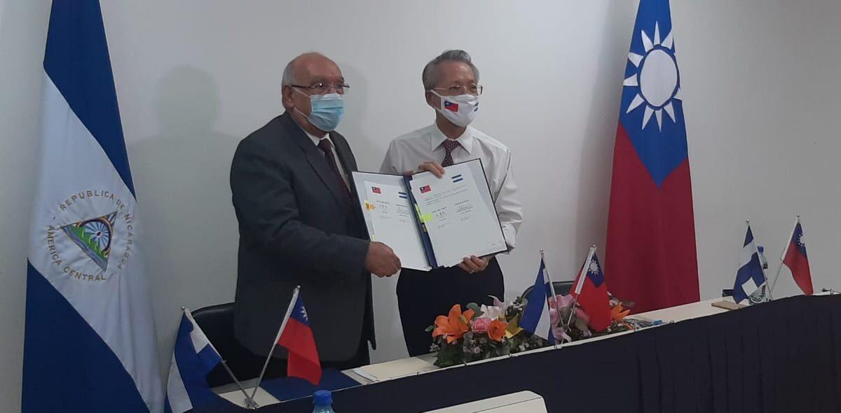 Nicaragua y Taiwán firman acuerdos en Tratado de Libre Comercio