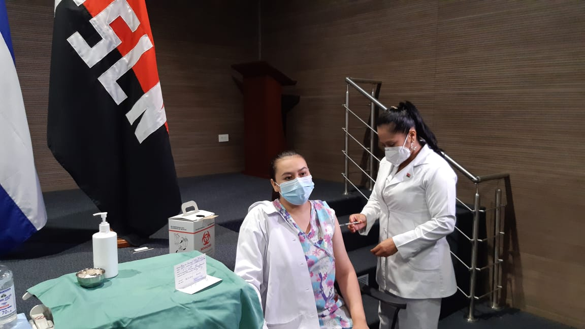 Trabajadores de los puestos fronterizos serán vacunados contra la Covid-19