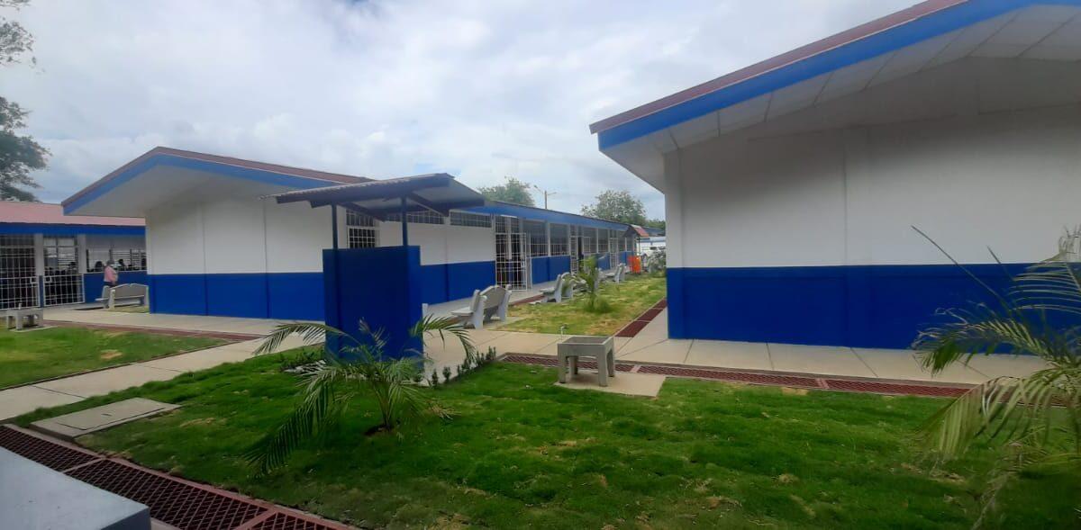 Niños estrenan escuela en el barrio El Rodeíto de Managua