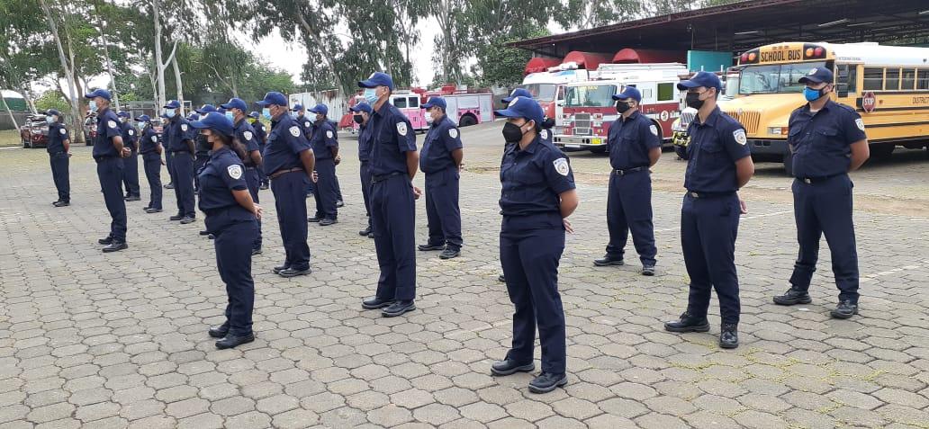 Nuevo curso de bomberos reúne a más de 30 aspirantes