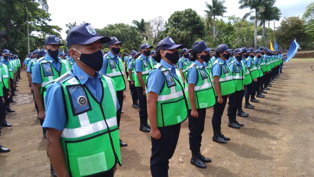 Más de mil nuevos policías se suman a las filas de la institución del orden público