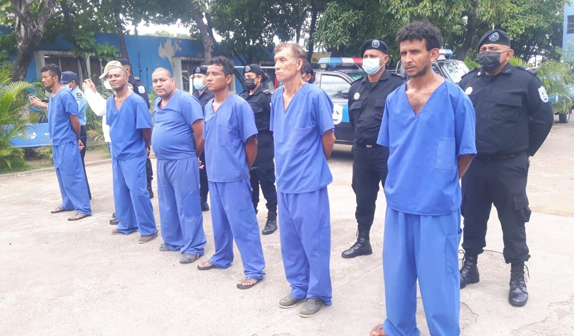 Operativo deja como resultado 12 personas arrestadas en Chinandega