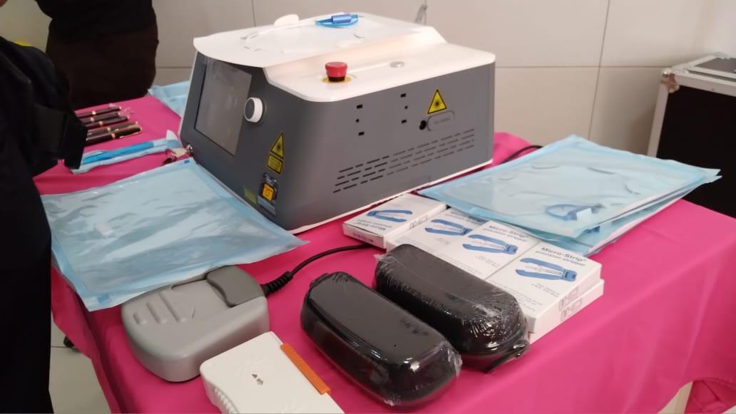 Personal de salud cuenta con modernos equipos para cirugía maternofetal