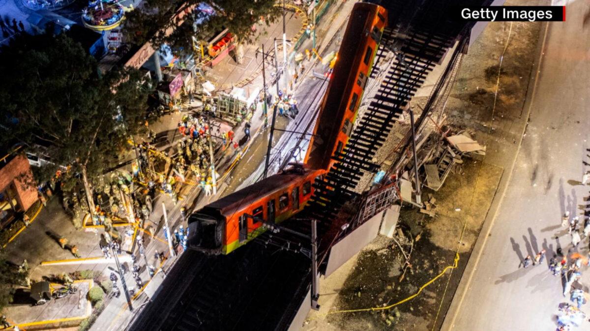 México: revelan posibles fallas en estructuras metálicas que provocaron colapso del Metro