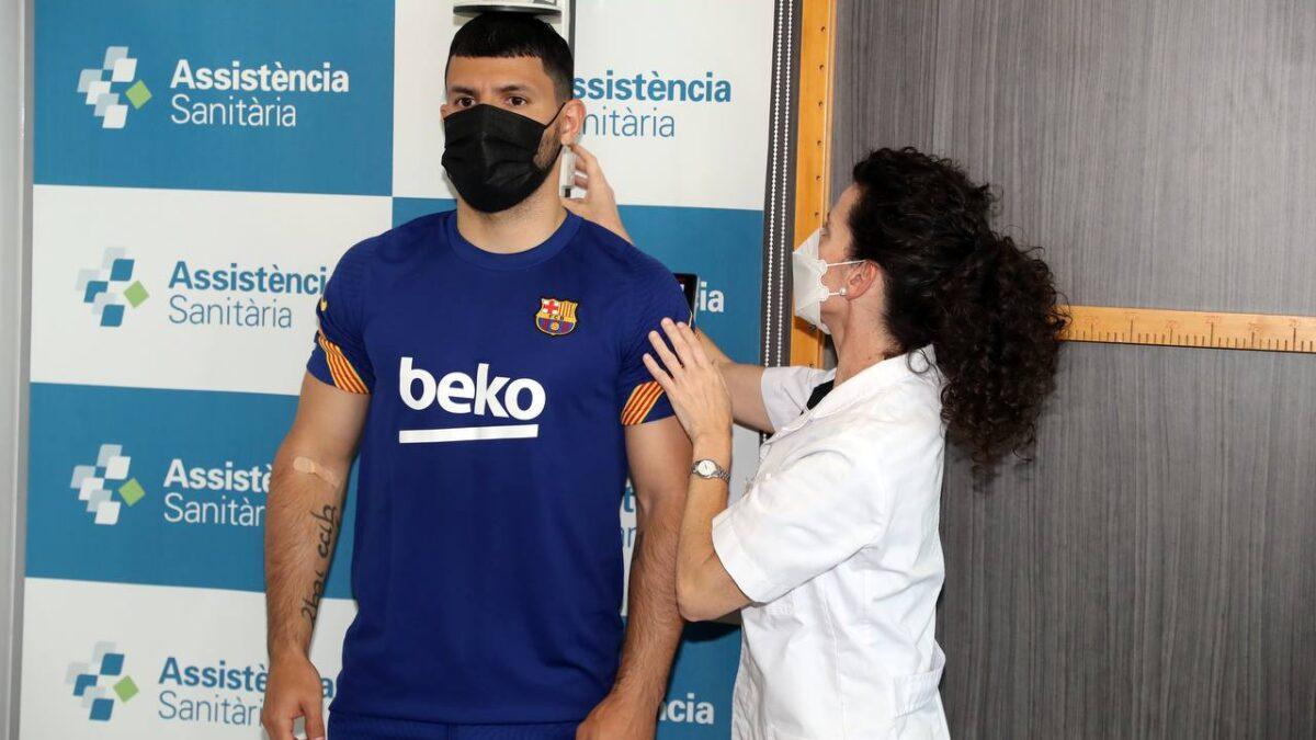 Sergio 'Kun' Agüero ya forma parte de la plantilla del Barcelona