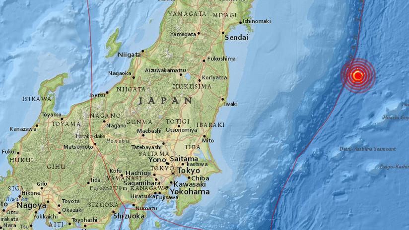 Sismo de 6,8 sacude las costas de Japón este primero de mayo
