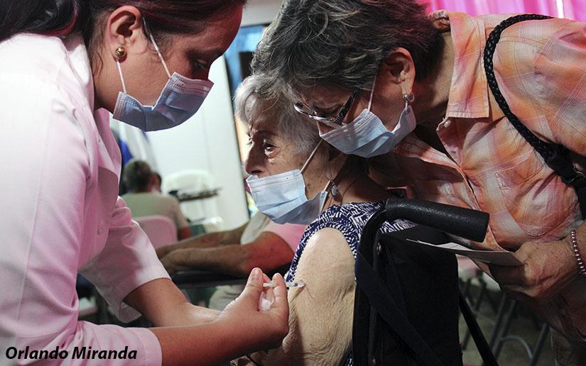 Vacunación contra la Covid-19 en Managua y Jinotega este próximo 26 de mayo