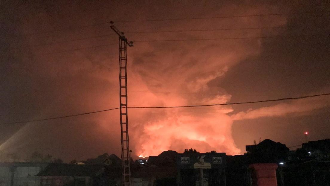 El volcán más peligroso de África entra en erupción