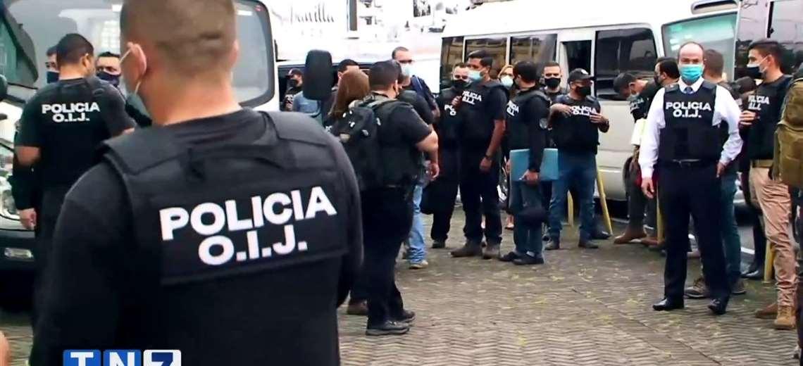 Costa Rica: allanan Casa Presidencial, Conavi y MOPT por presuntos sobornos y corrupción
