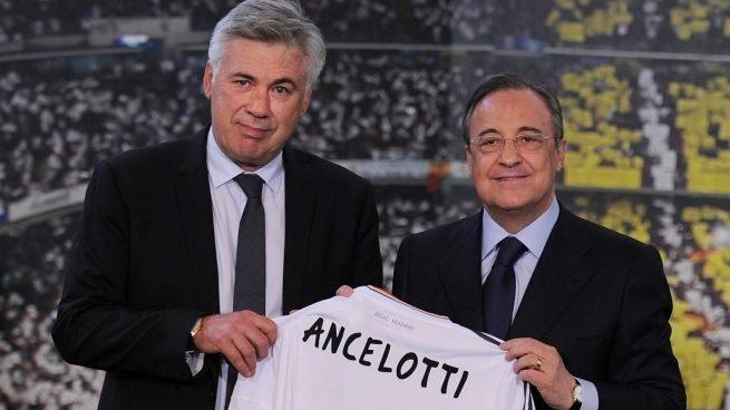 Carlo Ancelotti es el nuevo técnico del Real Madrid