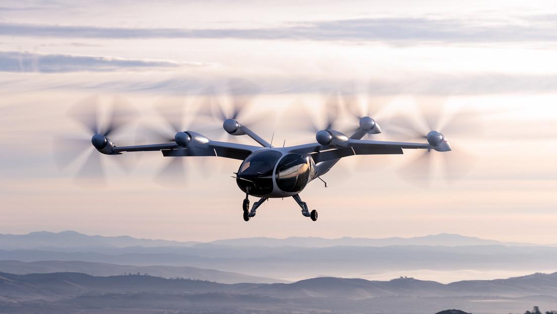 Compañía Archer Aviation presenta su novedoso Taxi Volador Eléctrico