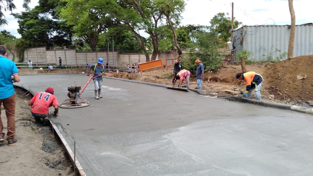 Pronto estará listo corredor vial que comunicará barrios del distrito I y III de Managua