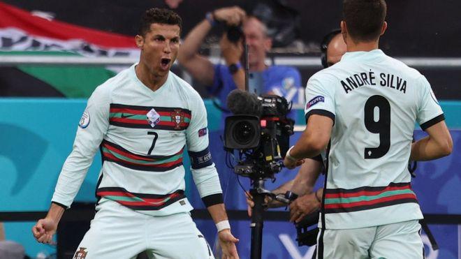 Cristiano Ronaldo se convierte en el máximo goleador en la historia de la Eurocopa