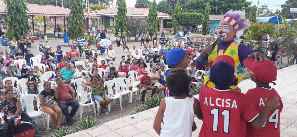 Finaliza semana de la niñez con festival Infantil de arte y cultura en Ciudad Sandino