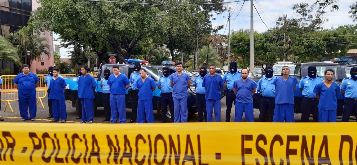 52 presuntos delincuentes fueron arrestados por la Policía Nacional