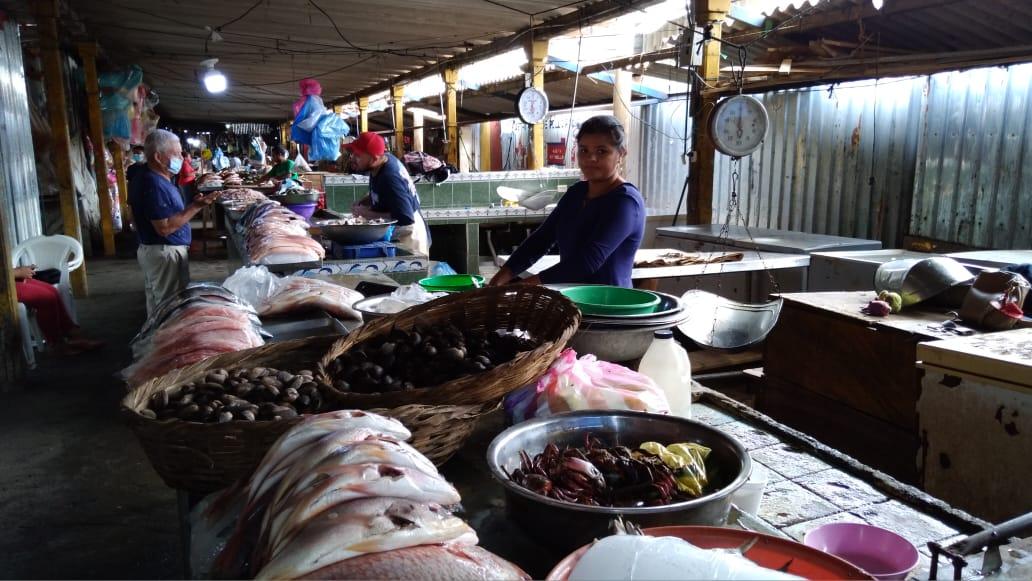 Permanecen estables precios de los productos del mar