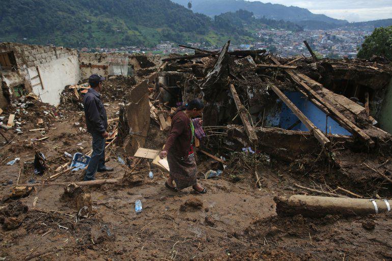 Fuertes lluvias provocan afectaciones en Guatemala