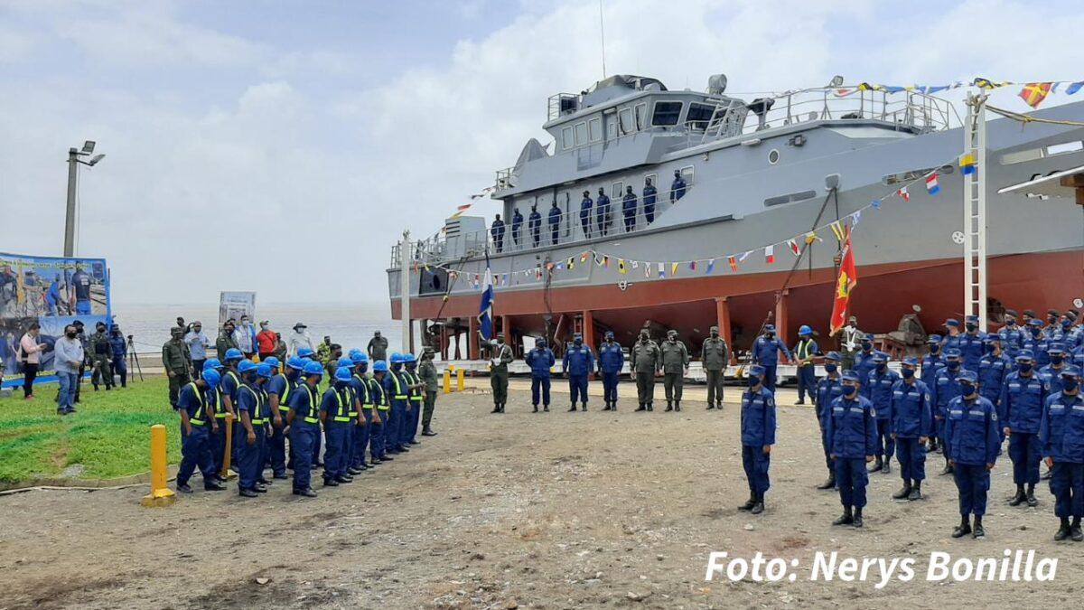 Fuerza Naval de Nicaragua cuenta con nuevas infraestructuras en el Caribe Sur