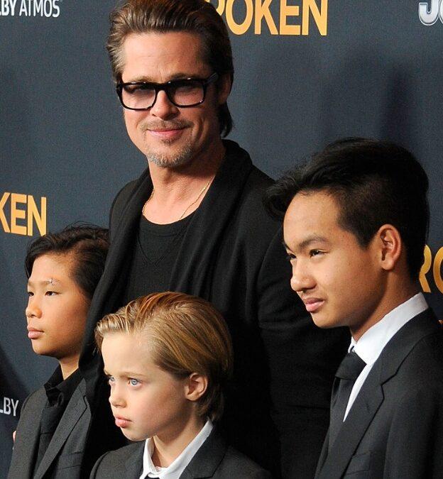 Hijos de Brad Pitt y Angelina Jolie testificarán en contra de su padre