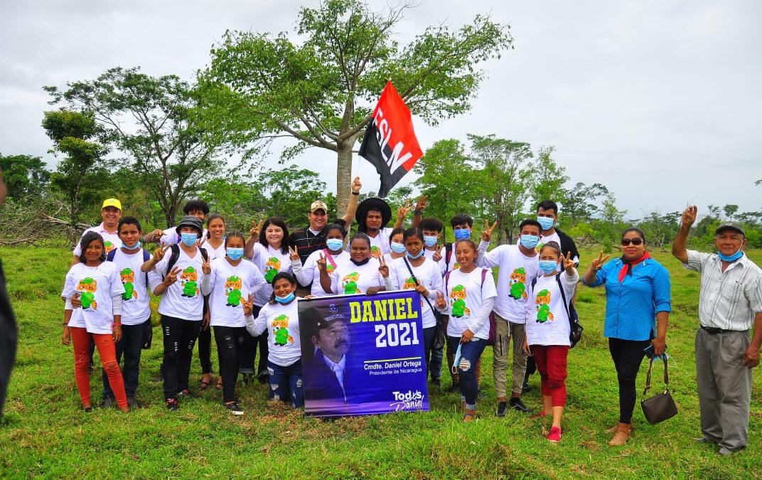 Nicaragua: Realizan lanzamiento oficial de la Cruzada Nacional de Reforestación